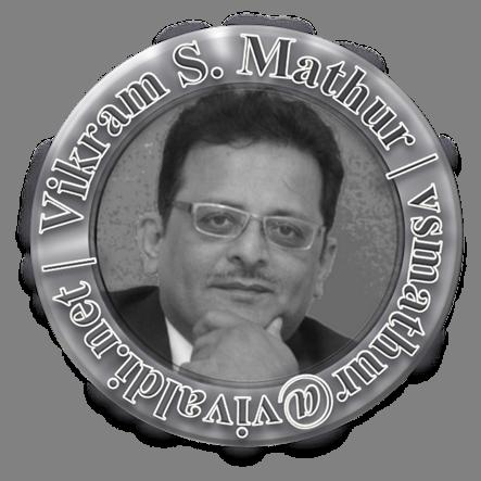 This is Vikram Shankar Mathur (vsmathurvivaldi)